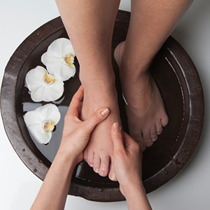 Reflexology Pedicure Treatment therapy massage beauty salon kallea chertsey surrey